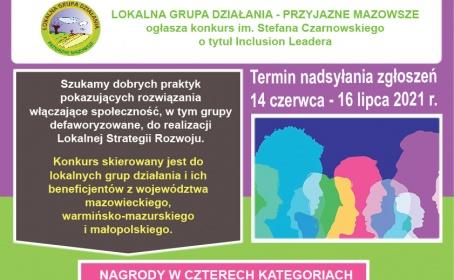 Konkurs im. Stefana Czarnowskiego o tytuł Inclusion Leadera